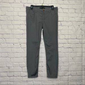 Tinsel denim couture gray ankle cut pants